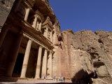 The Treasury (Al Khazneh), Petra, Unesco World Heritage Site, Jordan, Middle East Photographic Print by Sergio Pitamitz