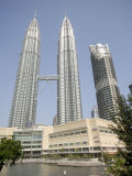 Petronas Twin Towers, One of the Tallest Buildings in the World, Kuala Lumpur, Malaysia Photographic Print by Richard Nebesky