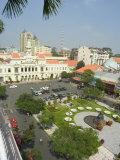 City Hall, Old Hotel De Ville, Ho Chi Minh City (Saigon), Vietnam, Southeast Asia Photographic Print by Christian Kober
