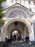 Samokov Gate of Rila Monastery, Unesco World Heritage Site, Rila Mountains, Bulgaria Photographic Print by Richard Nebesky