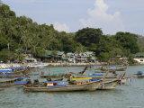 Ton Sai Bay, Phi Phi Don Island, Thailand, Southeast Asia Photographic Print by Sergio Pitamitz