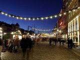 Nyhavn at Christmas, Copenhagen, Denmark, Scandinavia Photographic Print by Sergio Pitamitz