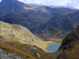 Panicata Lake in Valley Below Hajduta Peak, 2465M, in Rila Mountains, Rila National Park, Bulgaria Photographic Print by Richard Nebesky