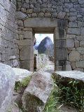 Inca Ruins, Machu Picchu, Unesco World Heritage Site, Peru, South America Fotografisk tryk af Oliviero Olivieri