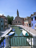 Burano, Venice, Veneto, Italy Photographic Print by Oliviero Olivieri