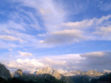Clouds Above Marmolada Range, 3342M, Dolomites, Alto Adige, Italy Photographic Print by Richard Nebesky