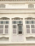 Facade of Traditional Singaporean Colonial Building, Little India, Singapore, Southeast Asia Photographic Print by Richard Nebesky