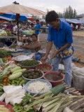 Market, Phuket, Thailand, Southeast Asia Photographic Print by Sergio Pitamitz