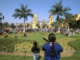 Easter Sunday, Lima, Peru, South America Fotografie-Druck von Oliviero Olivieri