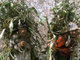Men Carrying Corn, Cuzco, Peru, South America Photographic Print by Oliviero Olivieri
