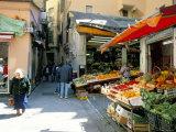 Centre, Genoa (Genova), Liguria, Italy, Mediterranean Fotografisk tryk af Oliviero Olivieri