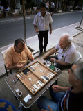 Backgammon, Kalamitsi, Peloponnese, Greece Photographic Print by Oliviero Olivieri
