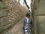 Walls, Cuzco, Peru, South America Photographic Print by Oliviero Olivieri