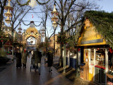 Tivoli Gardens at Christmas, Copenhagen, Denmark, Scandinavia Photographic Print by Sergio Pitamitz
