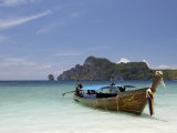 Yong Kasem Beach, Known as Monkey Beach, Phi Phi Don Island, Thailand, Southeast Asia Photographic Print by Sergio Pitamitz