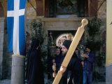 Orthodox Easter, Athos, Greece Photographic Print by Oliviero Olivieri