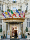 Main Entrance of Luxury Grandhotel Pupp in the Spa Town of Karlovy Vary, West Bohemia Photographic Print by Richard Nebesky