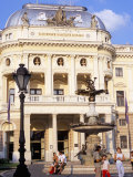 Neo-Baroque Slovak National Theatre, Now Major Opera and Ballet Venue, Bratislava, Slovakia Photographic Print by Richard Nebesky