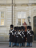 Changing of the Guard, Amalienborg Palace, Copenhagen, Denmark, Scandinavia Photographic Print by Sergio Pitamitz