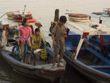Harbour Boats, Bach Dan Jetty, Ho Chi Minh City (Saigon), Vietnam, Southeast Asia Photographic Print by Christian Kober
