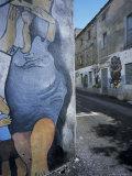 Murals, Orgosolo, Island of Sardinia, Italy Photographic Print by Oliviero Olivieri