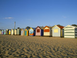 Beach Huts at Brighton Beach, Melbourne, Victoria, Australia Photographic Print by Richard Nebesky