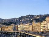 Port, Genoa (Genova), Liguria, Italy, Mediterranean Photographic Print by Oliviero Olivieri