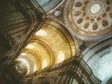 Church Interior, Quito, Ecuador, South America Fotografisk tryk af Oliviero Olivieri