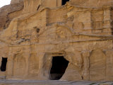 Obelisk Tomb, Petra, Unesco World Heritage Site, Jordan, Middle East Photographic Print by Sergio Pitamitz
