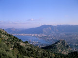 View Over Palermo, Island of Sicily, Italy, Mediterranean Photographic Print by Oliviero Olivieri