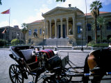 Teatro Massimo, Palermo, Island of Sicily, Italy, Mediterranean Photographic Print by Oliviero Olivieri