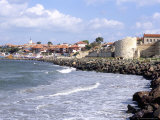 Town and Walls of Nesebar, Bulgaria Photographic Print by Richard Nebesky