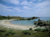 Bay on the Coast, Asinara, Sardinia, Italy, Mediterranean Photographic Print by Oliviero Olivieri