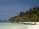 Bamboo Island Near Phi Phi Don Island, Thailand, Southeast Asia Photographic Print by Sergio Pitamitz