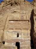 Silk Tomb, Petra, Unesco World Heritage Site, Jordan, Middle East Photographic Print by Sergio Pitamitz