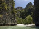 Loh Sama Bay, Phi Phi Lay Island, Thailand, Southeast Asia Photographic Print by Sergio Pitamitz