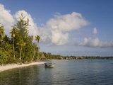 Rangiroa, Tuamotu Archipelago, French Polynesia Islands Photographie par Sergio Pitamitz