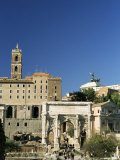 Roman Forum, Unesco World Heritage Site, Rome, Lazio, Italy Photographic Print by Sergio Pitamitz