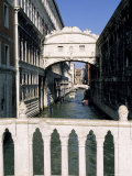 Bridge of Sighs Crossing Rio Del Palazzo, Venice, Veneto, Italy Photographic Print by Sergio Pitamitz