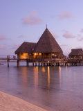 Pearl Beach Resort, Tikehau, Tuamotu Archipelago, French Polynesia Islands Photographic Print by Sergio Pitamitz