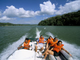 Gatun Lake, Soberania Forest National Park, Panama Canal, Panama, Central America Photographic Print by Sergio Pitamitz