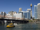 Skyline, Darling Harbour, Sydney, New South Wales, Australia Photographic Print by Sergio Pitamitz