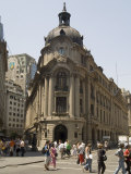 Stock Exchange, Santiago, Chile, South America Photographic Print by Sergio Pitamitz