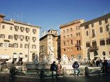 Piazza Navona, Rome, Lazio, Italy Photographic Print by Sergio Pitamitz