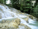 Dunn's River Falls, Ocho Rios, Jamaica, West Indies, Central America Photographic Print by Sergio Pitamitz