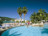 Swimming Pool, Jamaica Grande Hotel, Ocho Rios, Jamaica, West Indies, Central America Photographic Print by Sergio Pitamitz
