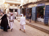 Bazaar, Old Town, Sana'A, Republic of Yemen, Middle East Photographic Print by Sergio Pitamitz