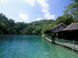Blue Lagoon, Port Antonio, Jamaica, West Indies, Central America Photographic Print by Sergio Pitamitz