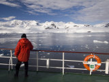 Antarctic Dream Ship Gerlache Strait, Antarctic Peninsula, Antarctica, Polar Regions Photographic Print by Sergio Pitamitz