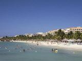 Palm Beach, Aruba, West Indies, Dutch Caribbean, Central America Photographic Print by Sergio Pitamitz